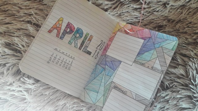 monthly april